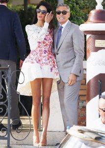 Джордж Клуни и Амаль Аламуддин решили жить уединённо и купили остров с особняком
