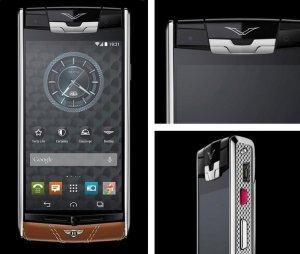 Смартфон Vertu for Bentley - титан в телячьей коже