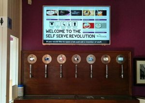 В новом английском iPub можно заказать пиво с помощью планшета