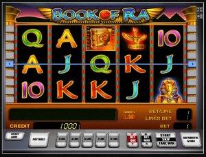 Окунуться в мир египетских загадок и тайн вам поможет игра Book of Ra