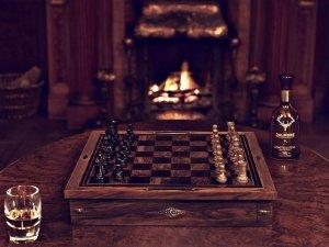 Дух классической Британии в стильных шахматах от брендов Holland & Holland и Dalmore