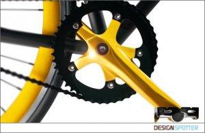 Роскошный велосипед Gold Cycle Two выглядит намного дороже, чем его стоимость