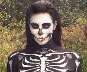 Ким Кардашьян и другие знаменитости в «мёртвом Царстве» Хэллоуина