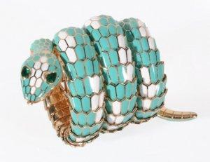 На аукционе «Dreweatts & Bloomsbury» продадут часы «Bulgari Serpenti», принадлежавшие Элизабет Тейлор