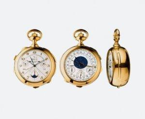 На Sotheby's уйдут с молотка самые знаменитые часы в мире Supercomplication