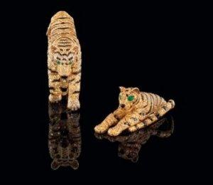 С молотка пойдут ювелирные украшения «тигровой серии» бренда Cartier, принадлежавшие герцогине Виндзорской