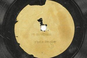 Первая пластинка Элвиса Пресли уйдет с молотка в день его 80-летия