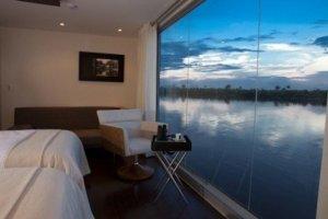 Роскошный плавучий отель отправится вместе с вами по Амазонке
