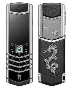 Три эксклюзивных телефона Vertu Signature Dragon Collection