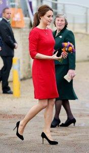 Герцогиня Кембриджская стала Lady in red