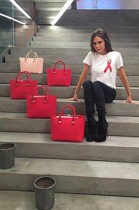 Виктория Бекхэм вступила в борьбу со СПИДом