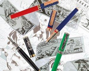 Золотые ручки с Бэтменом от бренда Montegrappa