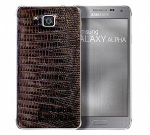 Стильные Samsung Galaxy Alpha с кожаными крышками заняли премиум-сегмент