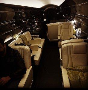 Джастину Биберу на Рождество подарили роскошный частный самолет