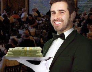 Неизвестный оставил в ресторане щедрые чаевые - $11.000
