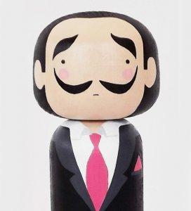 Ван Гог и Сальвадор Дали с Лагерфельдом стали японскими куклами
