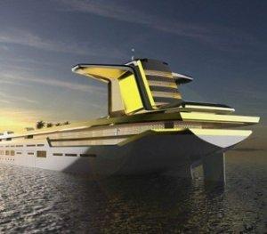 Самая большая роскошная яхта будет создана из нефтяного танкера