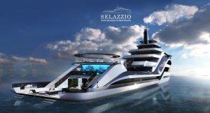 Бренд ICON Yachts создаст суперяхту Selazzio 95 Sea Palace