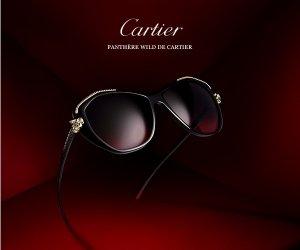Знаменитый бренд Cartier представил женские солнечные очки «Дикая Пантера»