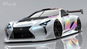 Готовится премьера суперкара LEXUS LF-LC GT «Vision Gran Turismo»