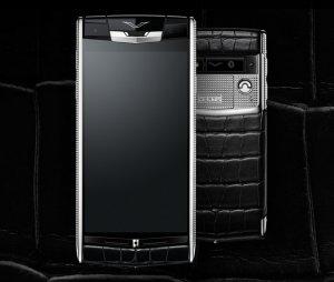 Ко «Дню всех влюблённых» бренд Vertu выпустил уникальный смартфон Signature Touch Clous de Paris