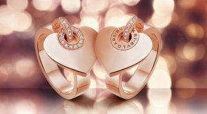 Драгоценные «валентинки» от бренда BVLGARI CUORE