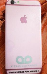 iPhone 6 в «девчачьем» стиле от Amosu