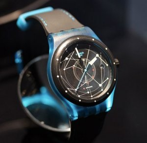 Швейцарские умные часы Swatch почти не надо заряжать