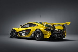 Гоночные трассы покорятся роскошному суперкару McLaren P1 GTR за $3.500.000