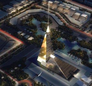 В Каире возведут 200-метровый небоскреб-пирамиду