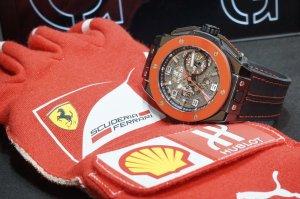 Часовой бренд Hublot выпустил «юбилейный» хронометр Big Bang Ferrari
