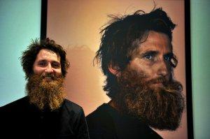 Бренд Hublot устроил фотовыставку бороды в Лондоне