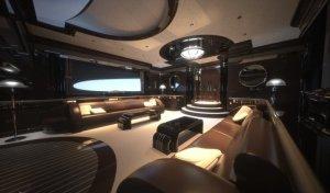 Strand Craft 122: мощная яхта с «космическим» дизайном и необычным «приложением» к ней поступит в продажу в 2017 году