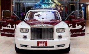 На службе у полиции Абу-Даби состоят роскошные Rolls-Royce Phantom