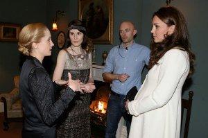 Герцогиня Кембриджская ездила в монастырь