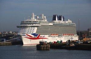 Роскошный круизный лайнер Britannia спущен на воду