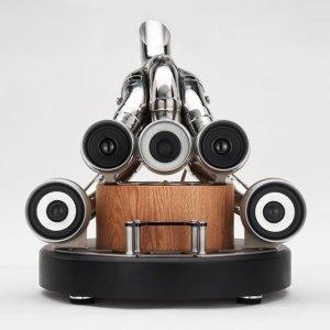 Создана аудиосистема из выхлопных труб