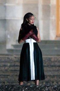 В Версальском дворце с участием Рианы прошли съёмки модного фильма Dior