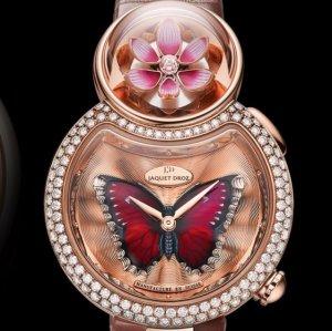 Ограниченная серия роскошных часов Lady 8 Flower представил часовой бренд Jaquet Droz
