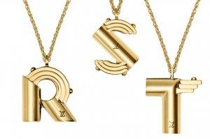 Драгоценный алфавит от Louis Vuitton можно носить в качестве роскошного украшения