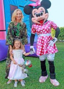 Орбакайте устроила «сказочное день рождение» в Майами в честь 3-летия своей дочери